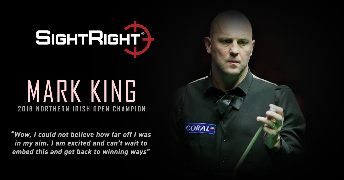 KING EYES ANOTHER TITLE WITH SIGHTRIGHT
